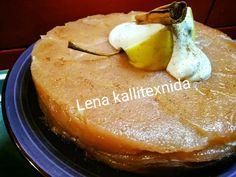 Η ποιο τέλεια μηλόπιτα κέικ αφράτη και λαχταριστή που έχετε φάει ποτέ, θα την λατρέψετε.. - Χρυσές Συνταγές Pudding, Desserts, Food, Tailgate Desserts, Deserts, Custard Pudding, Essen, Puddings, Postres