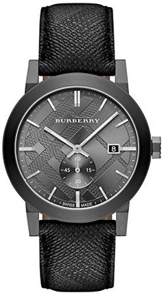5ae58230163 Burberry Check Stamped Bracelet Watch