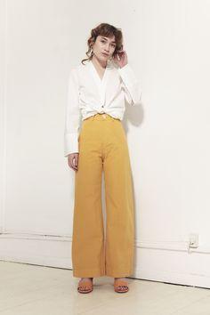 JESSE KAMM, Sailor Pants, Caribbean Gold |