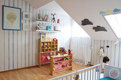 KIDS ROOM IN THE ATTIC