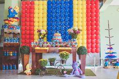 #decoracao #producao #festa #1ano #galinha pintadinha #galinha #pintadinha