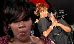 Pictured: Whitney Houston's final performance two day before death... as emotional Kelly Price breaks down at Grammys recalling impromptu duet