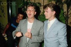 DB and Paul McCartney