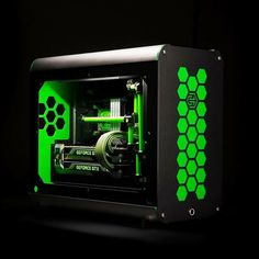 Hex Gear used our Sleeving and tubing when Nvidia GeForce asked them for a show rig.  Check out our store at www.e22.biz ______ #pcmod #pcmodding #pcgaming #gaming #gamingpc #nvidia #pcmr #pcmasterrace #hexgear #green #r40