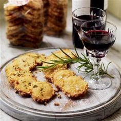 Cheese and rosemary sablés Recipe | delicious. Magazine free recipes