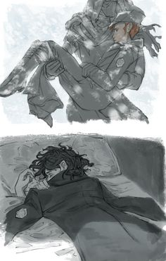 some sketches for all that you love will be carried away because this fic is giving me life