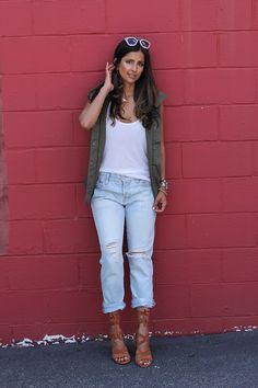 Boyfriend Jeans, lac
