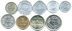 Pakistani coins Pakistan Art, History Of Pakistan, Pakistani Rupee, World Coins, Coin Collecting, Postage Stamps, Cool Photos, Pure Products, Memories