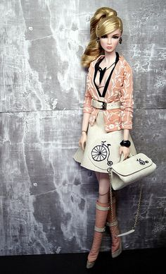 I Bike it Alot ~ Fashion Royalty restyled and photographed by Shuga-shug