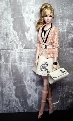 I Bike it Alot ~ Fashion Royalty restyled and photographed by Shuga-shug