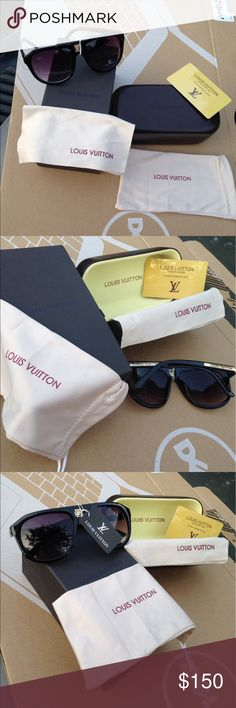 Louis Vuitton Sunglasses 😜 Authentic, comes with everything in the pictures, no damages , great price, open to offers Louis Vuitton Accessories Sunglasses