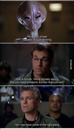 Earth, a bunch of idiots. Miss SG1 so bad