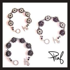 free pdf chart for bracelet Piaf