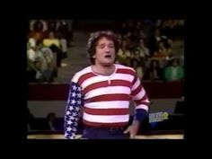Robin Williams as the America Flag - YouTube