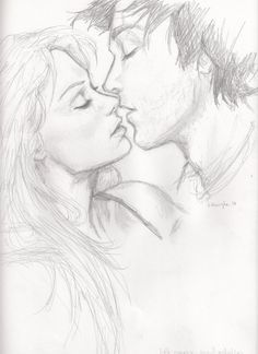 cute teen couples sketches - Google Search