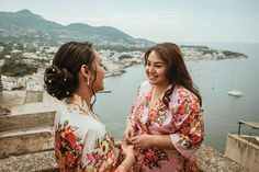 This fairytale unfolds at the medieval Aragonese Castle next to Ischia, at the northern end of the Gulf of Naples, Italy. There's something else about this gem, that our readers may be equally thankful to know too. Sana and Mike planned their dream destination wedding at Italy's castle ruins in a mere five months with the help of the Castello Aragonese management team taking on all the stressful details. Wedding Ceremony, Wedding Day, Romantic Scenes, Strictly Weddings, Castle Ruins, Old World Charm, Rustic Elegance, First Dance, The Help