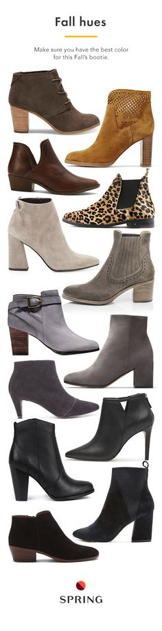 Fall's best booties are all on Spring. Seriously. With over 1,250 brands, you can always find the style you're after from the designers you love. Plus free shipping + free returns.