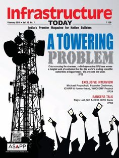 Infrastructure Today February 2016 Issue- A Towering Problem  #InfrastructureToday #Architecture #Construction #ebuildin