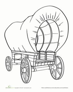This is the same kind of wagon that got many of our pioneer relatives across the country during the U.S.'s westward expansion.