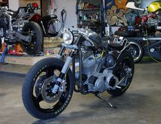 Harley Davidson Sportster 1200 Cafe Racer by Church of Choppers #motorcycles #caferacer #motos | caferacerpasion.com