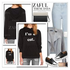 """Zaful 41"" by sabinakopic ❤ liked on Polyvore featuring Topshop, Mint Velvet, Urban Decay, bestylish, zaful and lovezaful"
