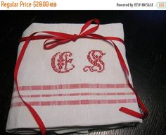 Autumn sale White Linen Pillow Case with Handmade by LinenFactory