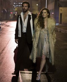 Right now, it's all about channeling 70s style a la American Hustle and Amy Adams