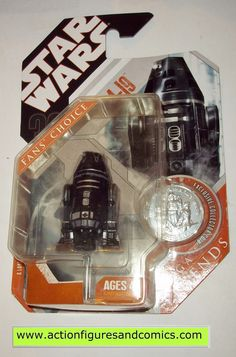 star wars action figures R4-19 droid 30th anniversary moc mip mib