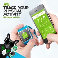 TIP #5: TRACK YOUR PHYSICAL ACTIVITY ⏳⌛️ Studies show that people who wear a device that tracks the number of steps they've taken each day, get moving more than those who don't.  #DDOrganicHealthyTips#healthy#healthier#healthytips#organic#happy#happiness#body#mind#healthybody#happier#thursday#saturday#organicfood#organicbeverages#darkdog#darkdogorganic#food#exercise#vegetarian#vegan