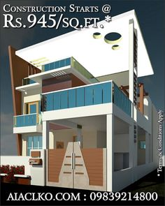 Looking for someone for the Construction of Your Building? Who could construct a building better than an Architect? An architect understands all details from the map designing to the last finishing touch of the interiors. We have very competitive packages for you that starts at Rs. 945.0/sq.ft. (Terms & Conditions apply).