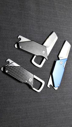 Kershaw Pub Sinkevich Utility Compact Pocket Knife with Carabiner. #affiliate