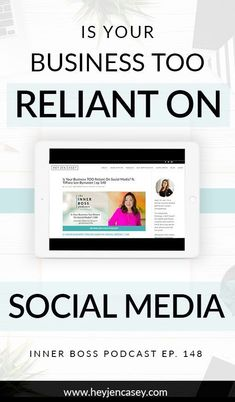 Is Your Business TOO Reliant On Social Media?