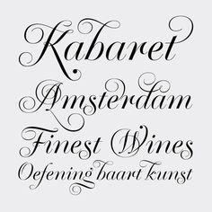 Las mejores tipografías de 2012 según Typographica : Hilo : Domestika