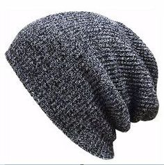 425e79234d8 2017 Winter Beanies Solid Color Hat Unisex Plain Warm Soft Beanie Skull  Knit Cap Hats Knitted · Mens ...