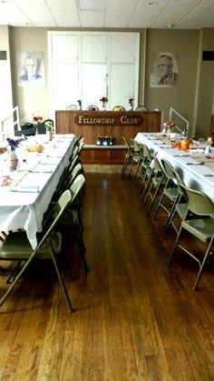30th anniversary Fellowship Club. 11/2014.