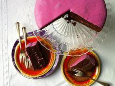 Chocoladetaart met bietjes en kardemom | etenenzo