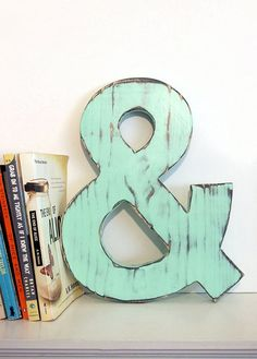 Our beautiful Ampersand is featured on Stylenetwork.com- Check it out-    http://www.stylenetwork.com/articles/detail.jsp?id=10353    All of our creations are cut, sanded and painted with our own hands. A final coat of varnish finishes the piece to give it protection and durability. We love to cr...