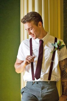 24 Modern Groom's Attire Details To Look Perfect ❤ See more: http://www.weddingforward.com/grooms-attire-details/ #weddings #groom