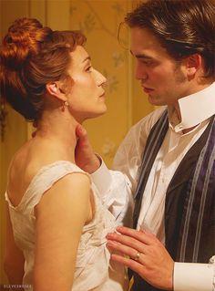 Bel Ami - Virginie Rousset (Kristin Scott Thomas) and Georges Duroy (Robert Pattinson)