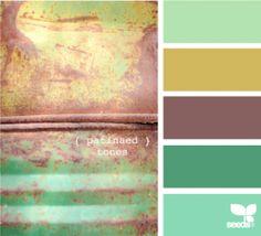 patinaed tones design seeds