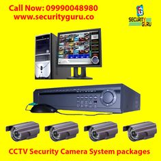 Get Complete Security Solutions & CCTV Complete Security System with Security Guru at minimum price with best quality. Cctv Security Cameras, Security Camera System, Bullet Camera, Security Solutions