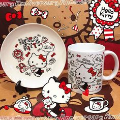 Found a Plate which matches my Hello Kitty 40th Mug from Brazil!!! 😉😍😍☕️ Thanks again sis Daniela for sending me the mug!!! 😍😘☕️ Ooops forgot to tag u sis, @daniela.ofontes 😍#hellokitty40thplate #hellokitty40thmug #hellokittymug #hellokittyplate #hellokitty40th #hellokitty40thanniversary #hellokitty #hellokittycollection #hellokittyobsession #sanrio #hellokittyhugs #ilovehellokitty #hellokittyeverything #hellokittycollectible #sanriocollectible #hellokittyshop #hellokittyjunkie…