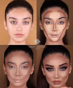 Konturtransformation – Tracie Kline-Dever – – - Make-Up Techniken Make Makeup, Makeup 101, Makeup Hacks, Makeup Goals, Makeup Inspo, Makeup Inspiration, Makeup Ideas, Makeup Products, Beauty Products