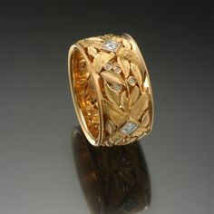 Seven Fingers:Rings-Tom Herman This looks like the ring my hsb had made for me, very similiar...I loved it...