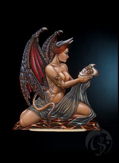 Engraver: Andreas Trost Scale: 85mm In the middle of the last year I decided to paint an