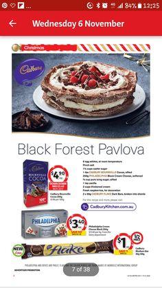 Black Forest Pavlova