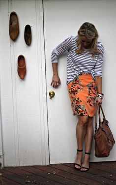 Stripes and Florals | GBO Fashion
