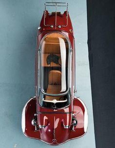 1955 #Messerschmitt KR200 #microcar #ClassicCar QuirkyRides.com