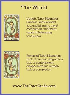 What Are Tarot Cards? Made up of no less than seventy-eight cards, each deck of Tarot cards are all the same. Tarot cards come in all sizes with all types Reiki, The World Tarot Card, Lotus Tarot, Tarot Cards For Beginners, Tarot Card Spreads, Free Tarot Reading, Online Tarot, Tarot Astrology, Meditation