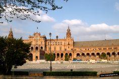 Parque de María Luisa, Plaza de España._ Sevilla